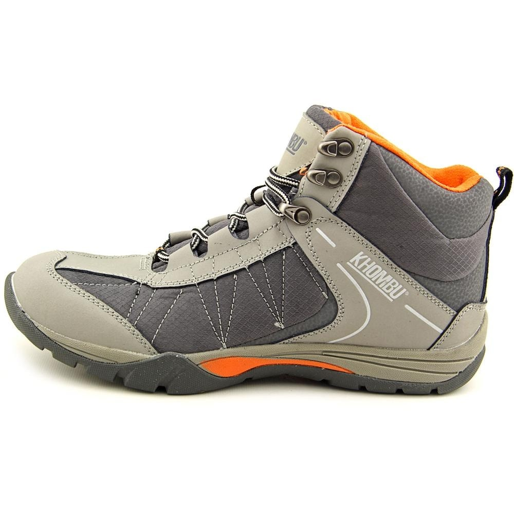 701abbb69d0c Shop Khombu Hilary Women Round Toe Leather Gray Hiking Shoe - Free Shipping  On Orders Over  45 - Overstock - 13697379