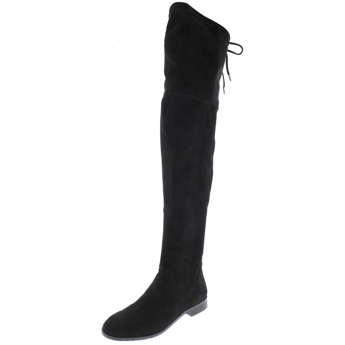c85988b17aa Shop Dolce Vita Womens Neely Over-The-Knee Boots Faux Suede Round ...