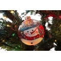 Silvestri Lisa Frost Snowman Ball Ornament