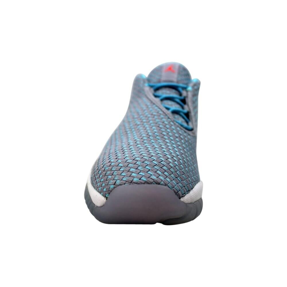 72c30da914d52 Nike Air Jordan Future Low GG Wolf Grey/Hot Lava- TD PL Blue-White  724814-014 Grade-School