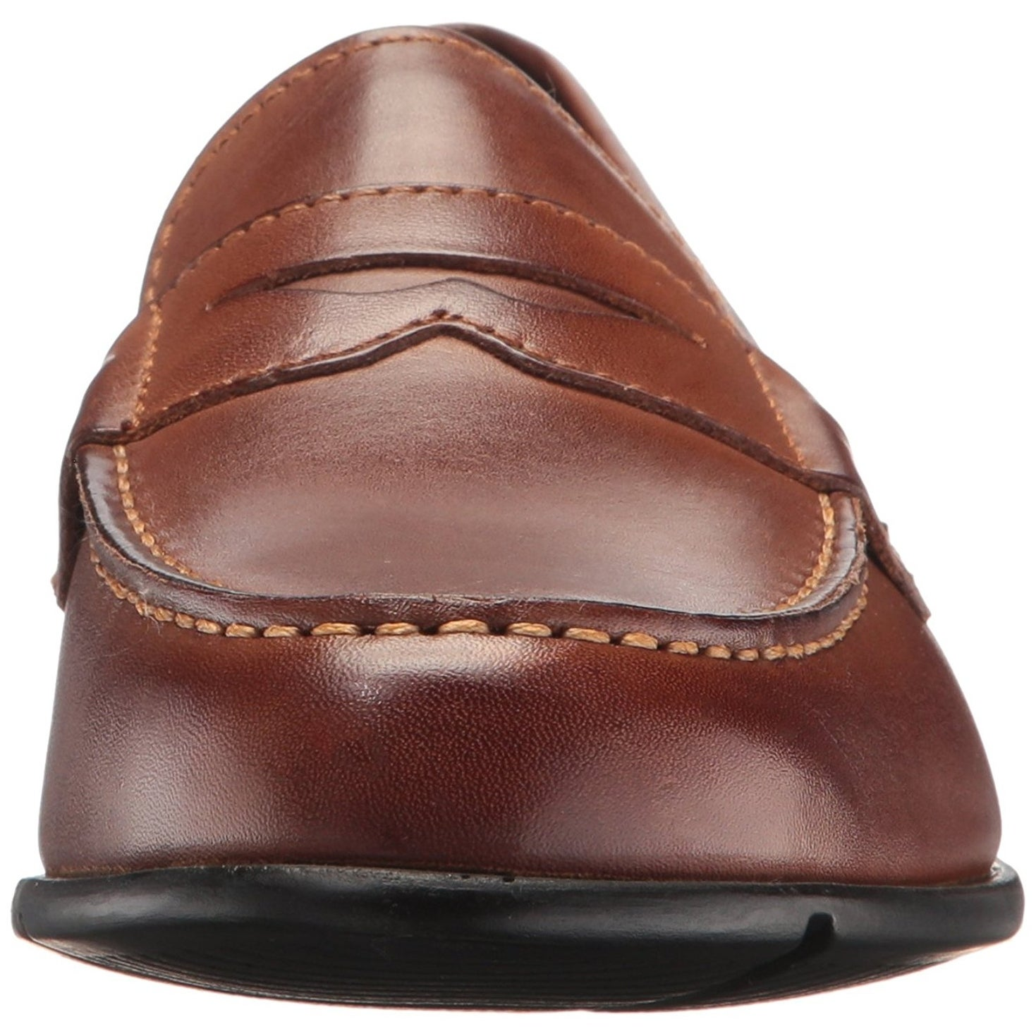 e945e2f7261 Shop Rockport Mens M76444 Leather Round Toe Penny Loafer - Free Shipping On  Orders Over  45 - Overstock - 20941124