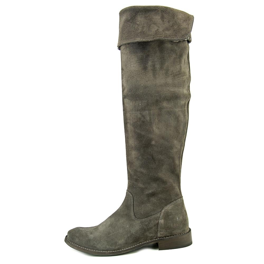 a794b0596f6 Shop Frye Shirley OTK Round Toe Leather Over the Knee Boot - Free Shipping  Today - Overstock.com - 13707514