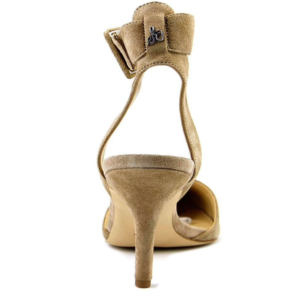 daed0db71 Shop Sam Edelman Okala Women Pointed Toe Suede Tan Heels - Free Shipping  Today - Overstock - 19567923