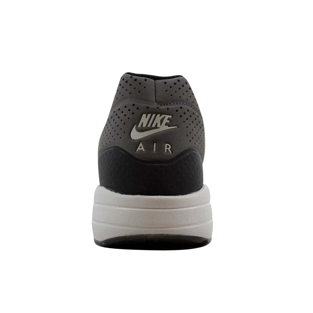 sports shoes 4fa9a 684ef Shop Nike Men s Air Max 1 Ultra Moire Dark Grey Black-Silver 705297-003 - Free  Shipping Today - Overstock - 22340413