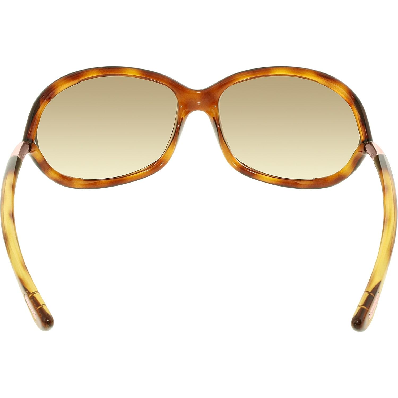 9182e969c8 Shop Tom Ford Women s Jennifer Rectangle Sunglasses FT0008-52F-61 - Free  Shipping Today - Overstock - 18901225