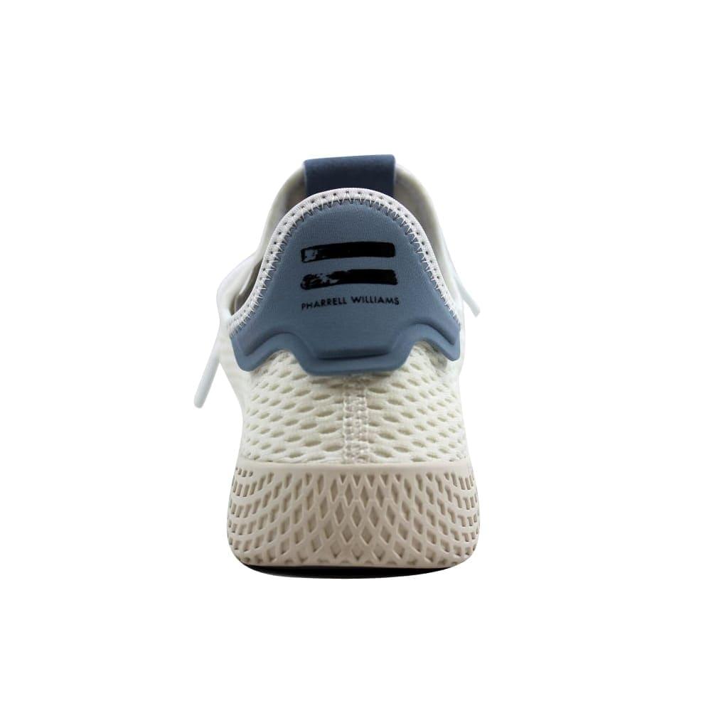 2c05c061e7932 Shop Adidas Pharrell Williams Tennis Hu J White Blue Grade-School CP9804  Size 7 Medium - Free Shipping Today - Overstock - 27601087