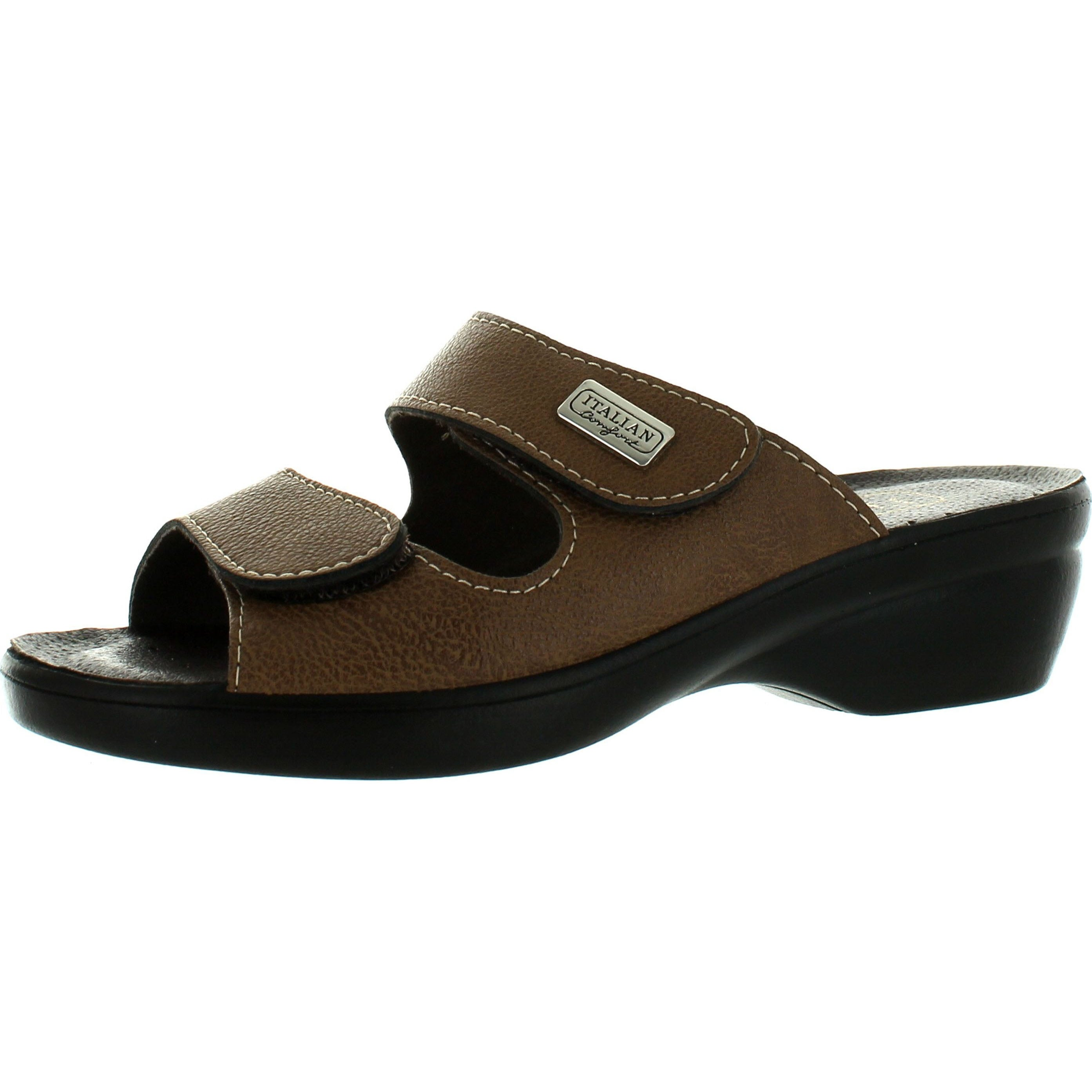 b0669c5b292 Shop Italian Comfort Womens Piermont Made In Italy Comfort Double Strap  Sandals - Free Shipping On Orders Over  45 - Overstock - 14381630