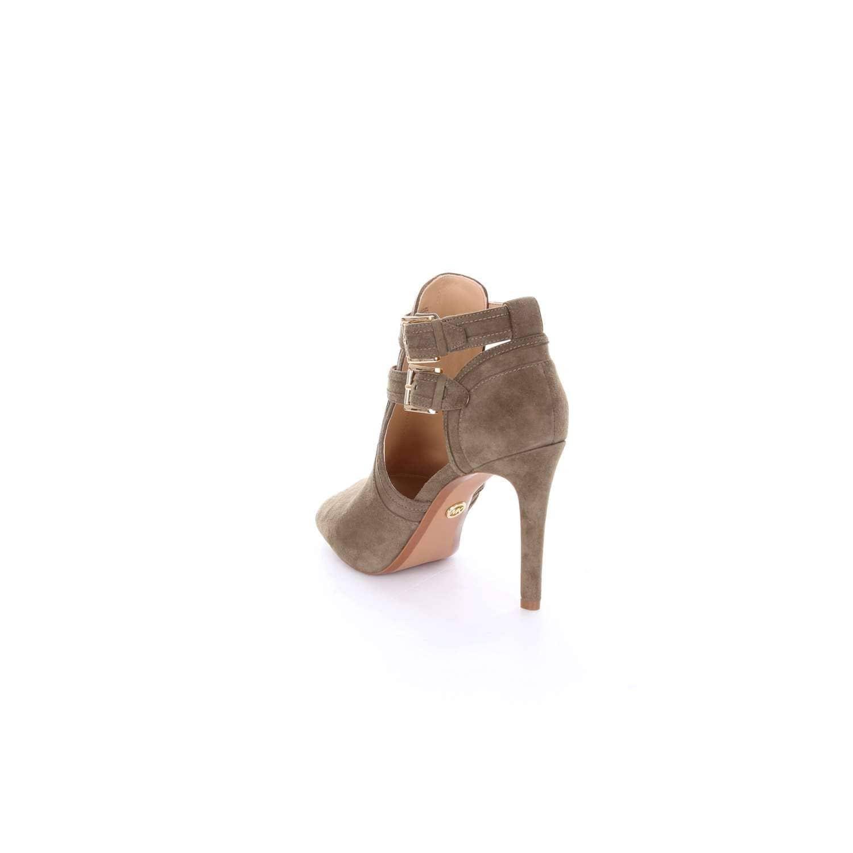 ad034c2b4c9e0 Michael Michael Kors Womens Bootie Leather Peep Toe Ankle Strap Classic  Pumps