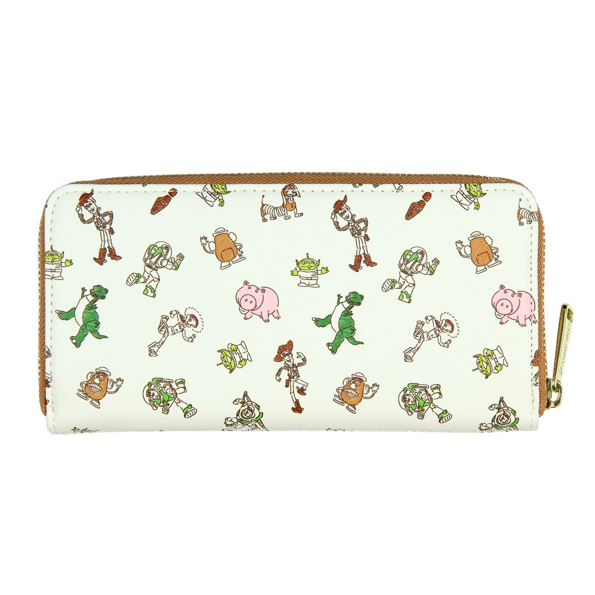 060b989232 Shop Loungefly x Disney Pixar Toy Story Allover Character Print Zip Around  Wallet - One Size Fits most - Free Shipping On Orders Over $45 - Overstock  - ...