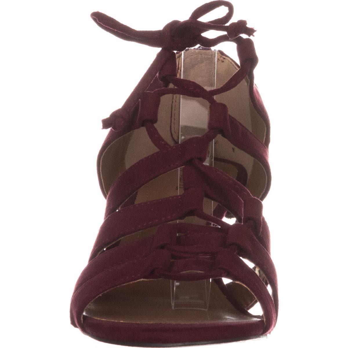 c485868372c3 Shop SC35 Hannde Lace Up Strappy Sandals