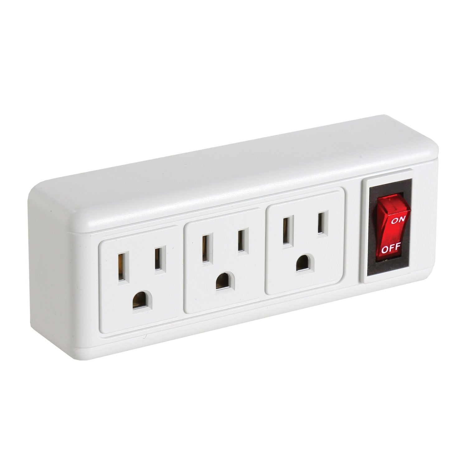 Shop Bandwagon Inc 3 Plug Outlet Adapter Set On Wall Power Strip
