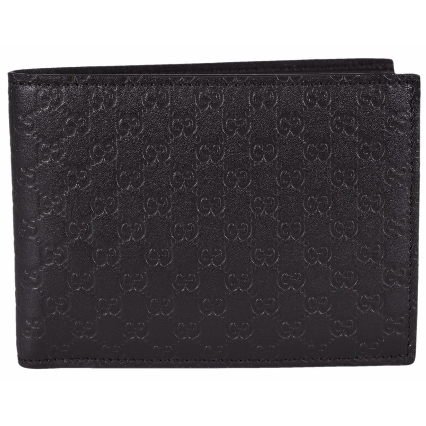 16d0f9a330bb Shop Gucci Men's 278596 Brown Micro GG Guccissima Large Bifold Wallet -  5
