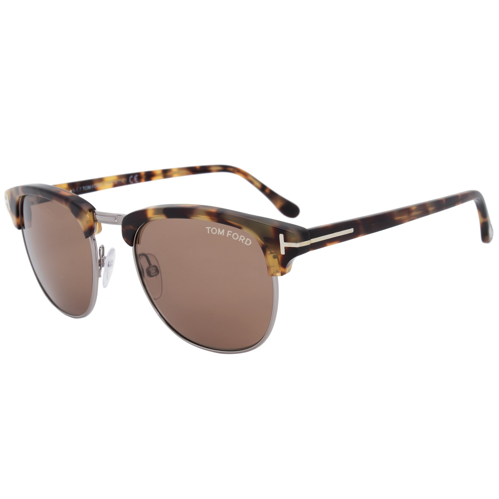 a9e7f98efcc76 Shop Tom Ford Henry Square Sunglasses FT0248 55J 53 - Free Shipping Today -  Overstock - 19622593