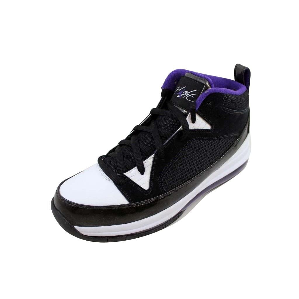 1e27aacc57 Nike Men's Air Jordan Flight 9 Max RST Black/Club Purple-White 486875-007