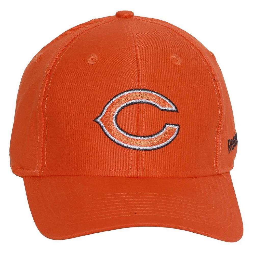 237b852cfaa0a uk chicago bears reebok adjustable hat orange 2864f cd7d2