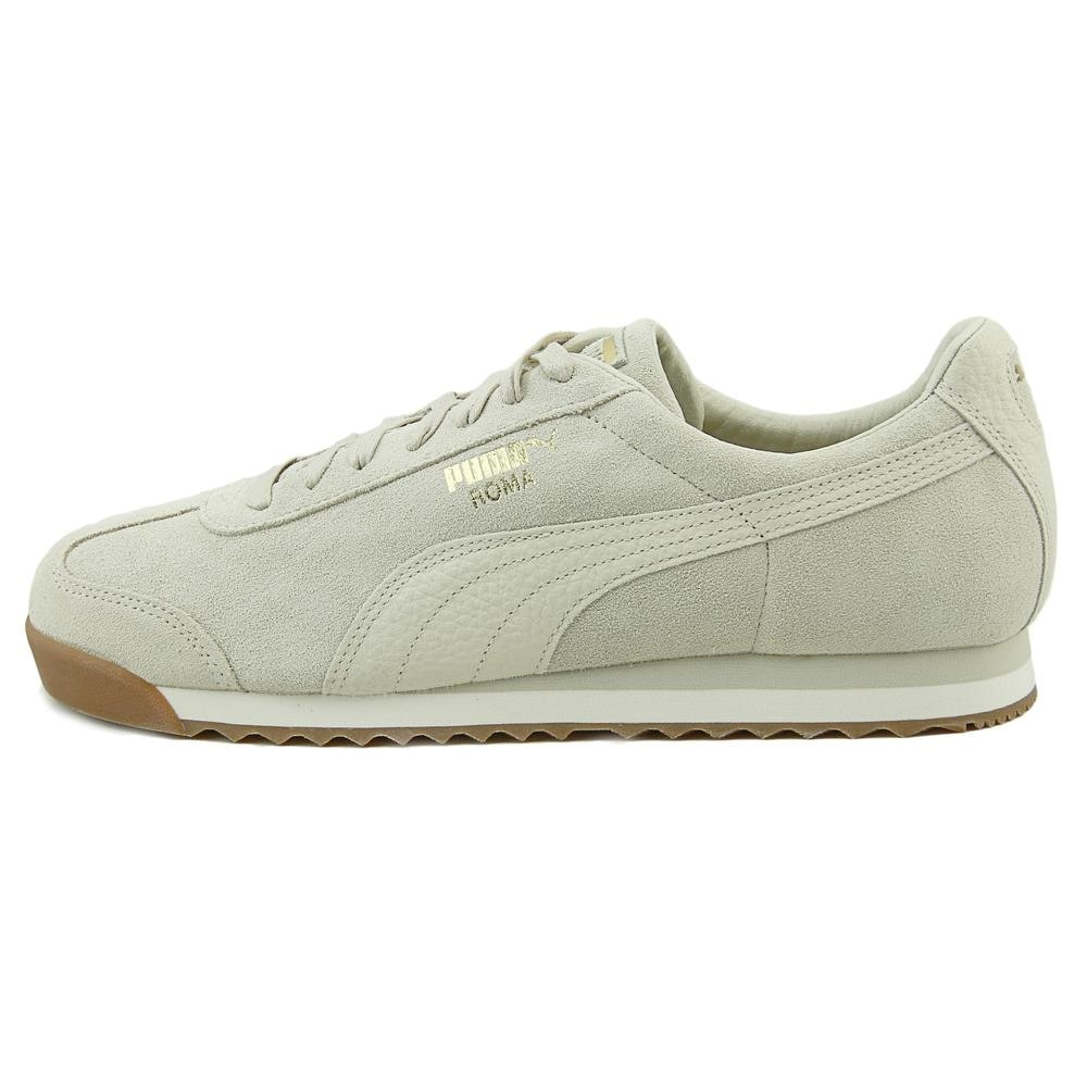f794d1125f4c6b Shop Puma Roma Natural Warmth Men Round Toe Suede Ivory Sneakers - Free  Shipping Today - Overstock - 19865251