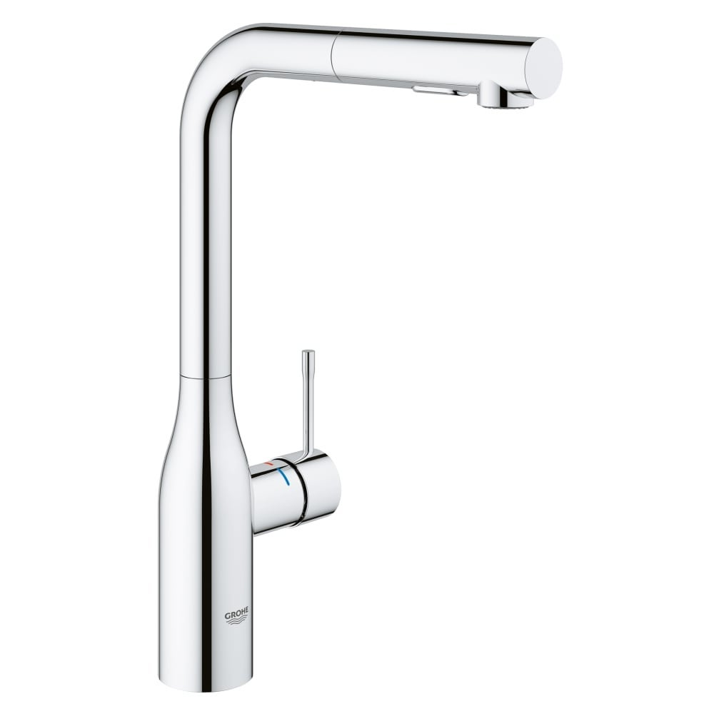 Shop Grohe 30 271 Essence Pull Out Kitchen Faucet With 2 Function