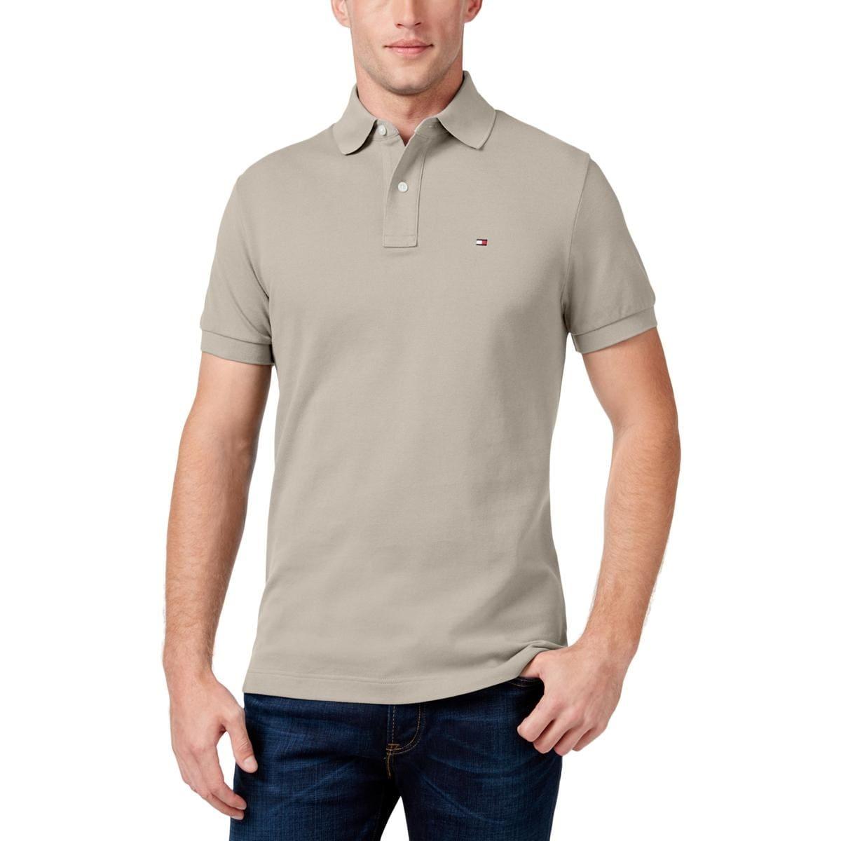Shop Tommy Hilfiger Mens Polo Shirt Pique Classic Fit Free