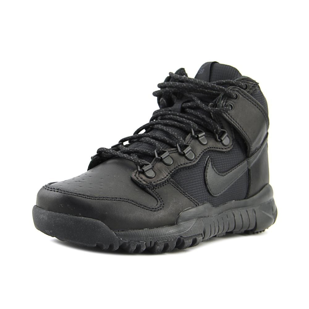 new products e97df ca919 Nike Sb Dunk High Boot Round Toe Leather Boot