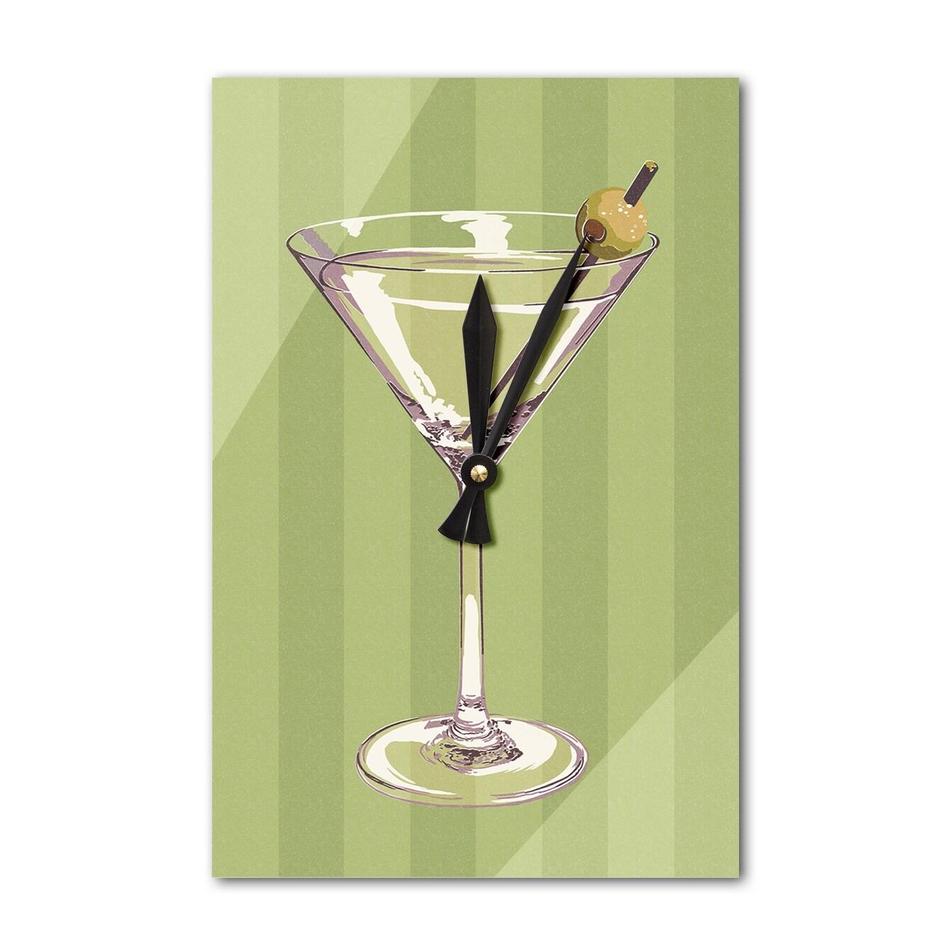 Enchanting Martini Glass Wall Art Adornment - Wall Art Collections ...