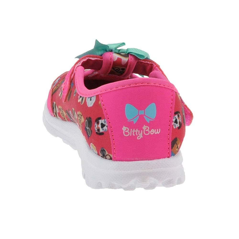 8d7636012ff Shop Skechers 81141N Girl's Go Walk Bow Wow Sneakers - 3 M US - Free  Shipping On Orders Over $45 - Overstock - 28122156
