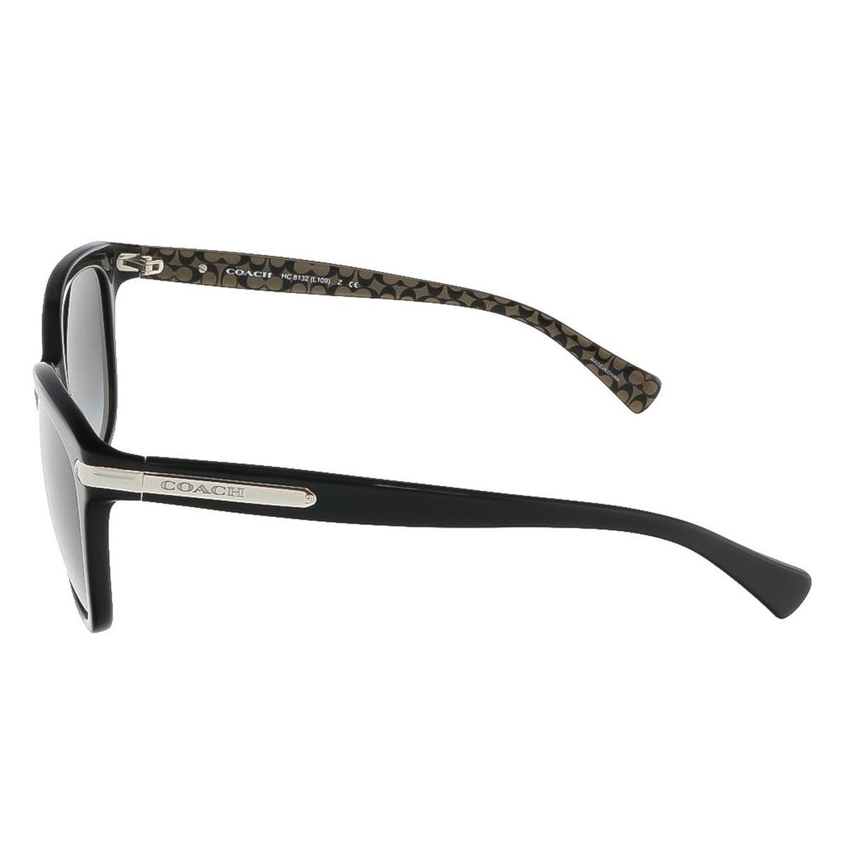 1a33a0bfa1c Shop Coach HC8132 526111 Black Military Sig C Wayfarer sunglasses -  57-17-135 - Free Shipping Today - Overstock - 13401939