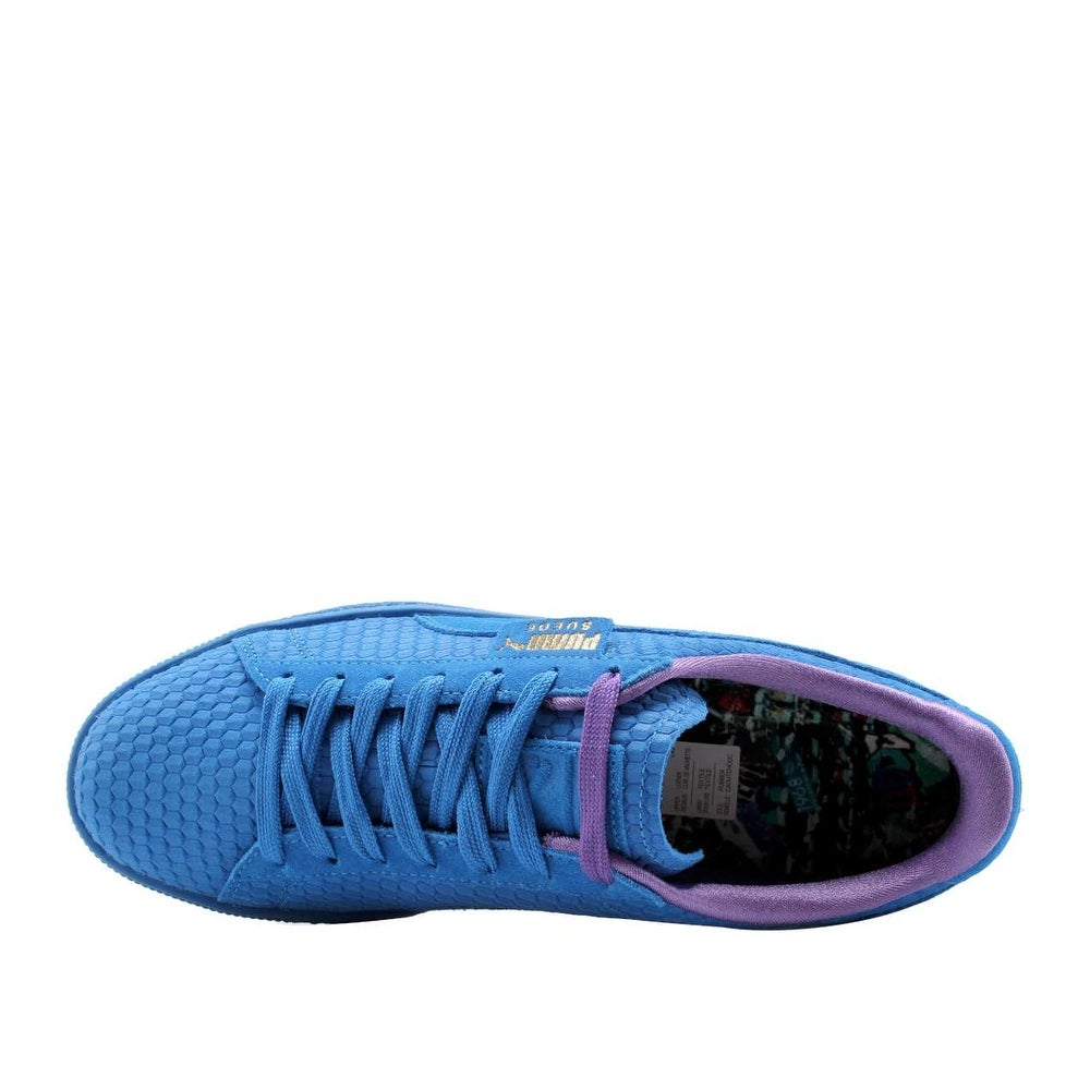 Shop Puma Mens Classic Archive AOP Suede Low Top Lace Up Fashion Sneakers -  Free Shipping Today - Overstock - 27316152 24995437a