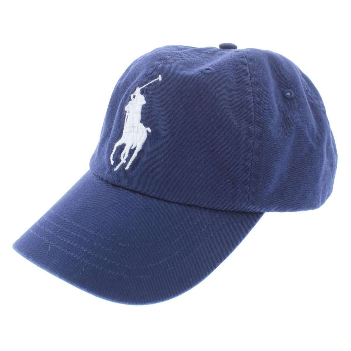 Shop Polo Ralph Lauren Mens Ball Cap Chino Signature - o s - Free Shipping  On Orders Over  45 - Overstock.com - 25696937 eea325f32c4