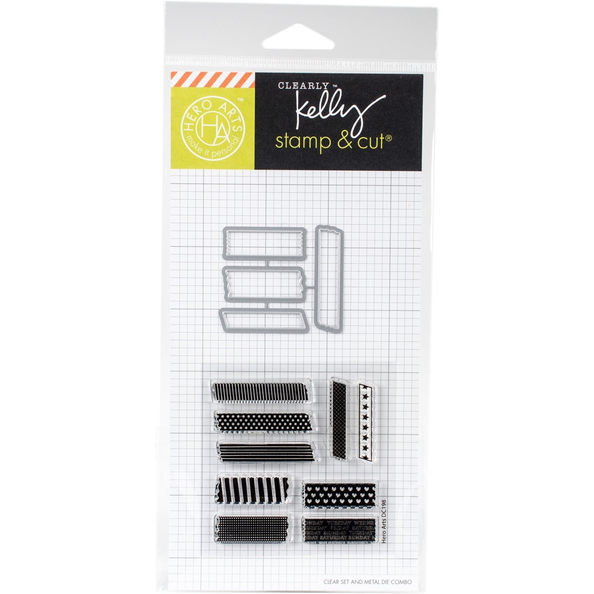 Shop Kelly Purkey Stamp Cut 3X4 Tape