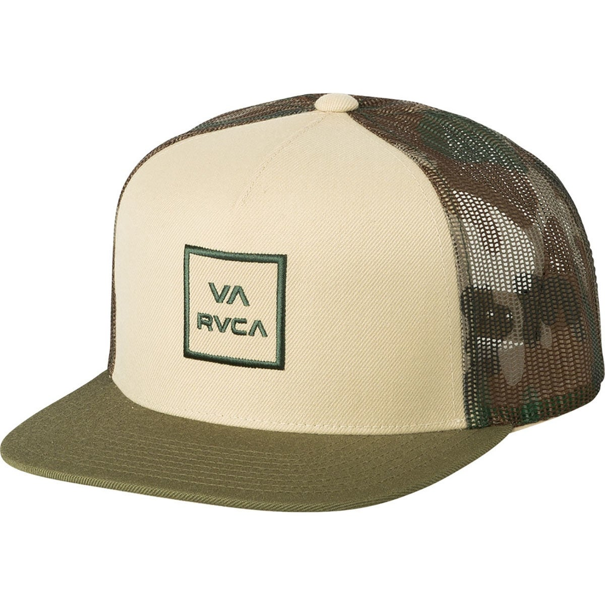 0d25ceb2ef9 Shop RVCA All The Way III Adjustable Mid-Fit Mesh-Back Trucker Hat - Free  Shipping On Orders Over  45 - Overstock.com - 21130786