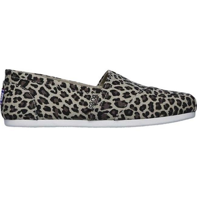 ebdcd6c2d08b Shop Skechers Women s BOBS Plush Hot Spotted Alpargata Leopard - On Sale -  Free Shipping On Orders Over  45 - Overstock - 26270648