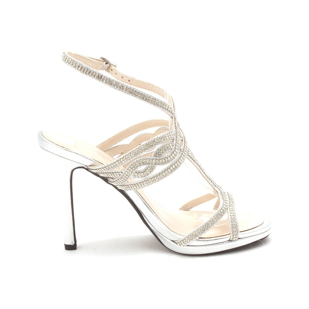 50c3e8868 Shop Caparros Womens Heather Open Toe Bridal Slingback Sandals - Free  Shipping Today - Overstock - 25364796