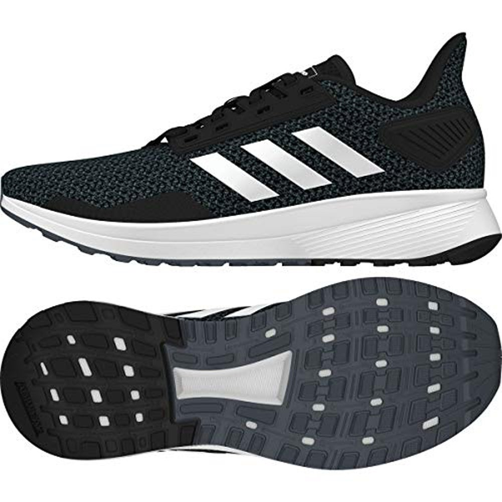 on sale 34aaf 26b2a Shop Adidas Womens Duramo 9, BlackWhiteGrey, 9.5 M Us - Free Shipping  Today - Overstock - 25367718