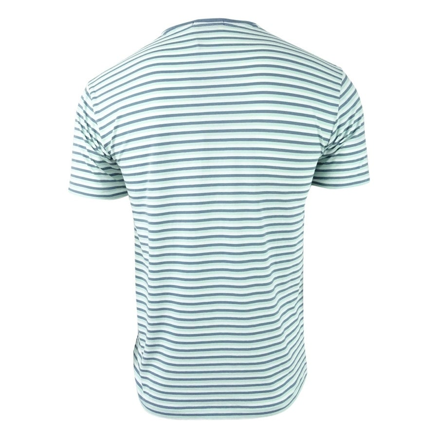 f6fecf45b Shop Polo Ralph Lauren Men's Classic-Fit Striped T-Shirt - Green Multi -  Free Shipping On Orders Over $45 - Overstock - 21184889