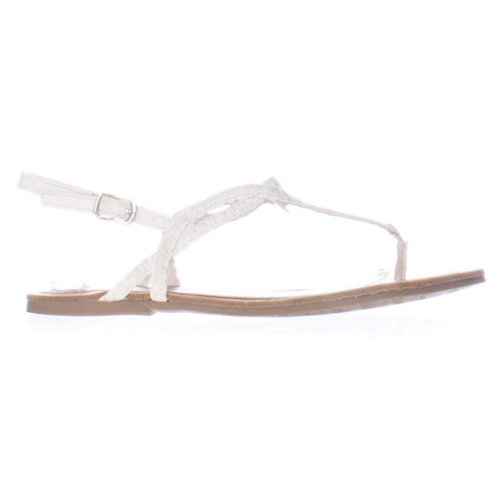 e73a73f7dc5 Shop American Rag Womens Keira Split Toe Casual Ankle Strap Sandals - Free  Shipping On Orders Over  45 - Overstock - 14750209