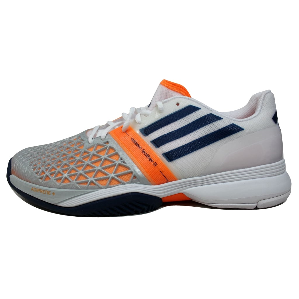 buy online 97978 bbf90 Shop Adidas Mens Clima Cool Adizero Feather III 3 Clear GreyNight Blue  F32336 - Free Shipping Today - Overstock - 19508173