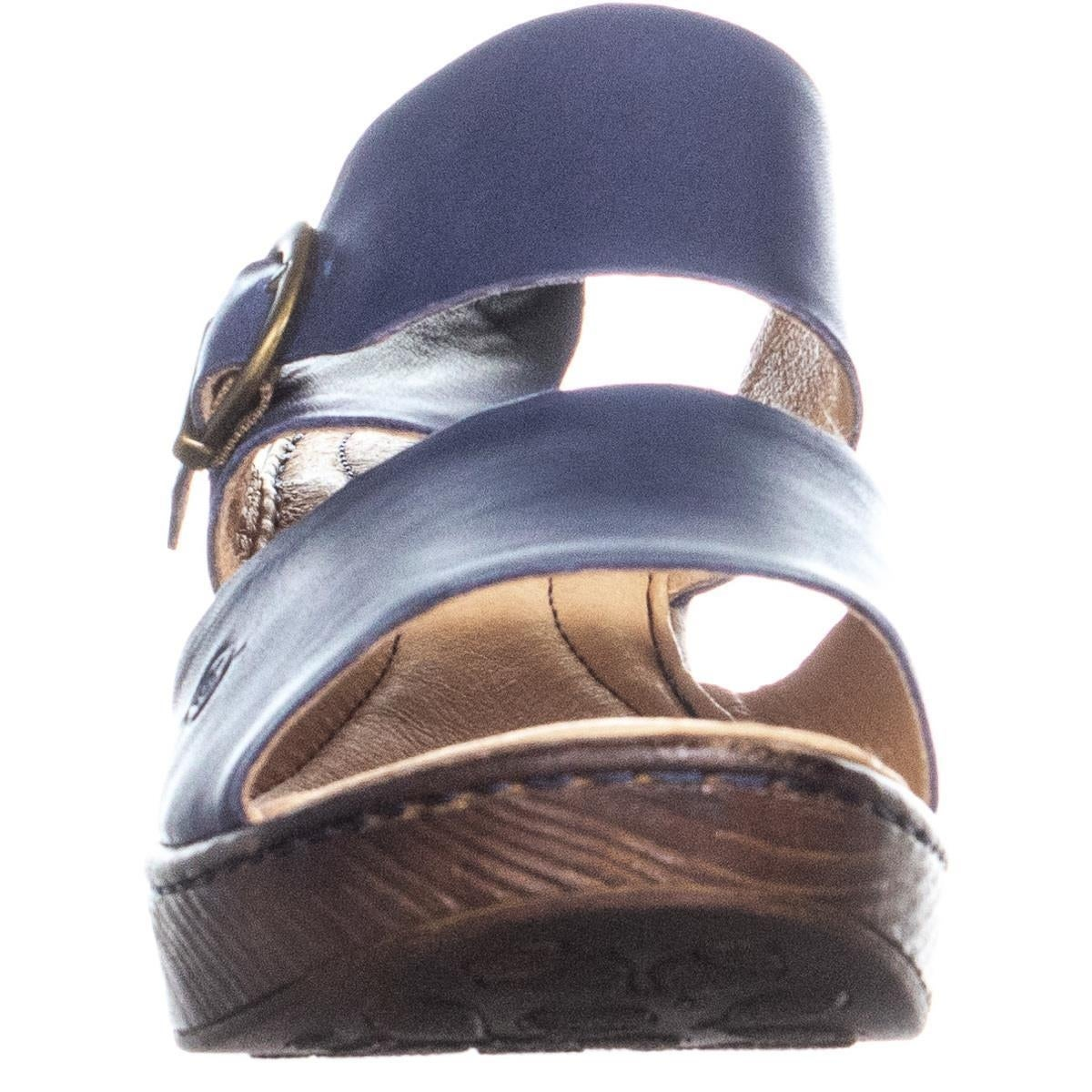 8cf3b6e6c320 Shop Born Carrabelle Buckle Slip On Platform Sandals