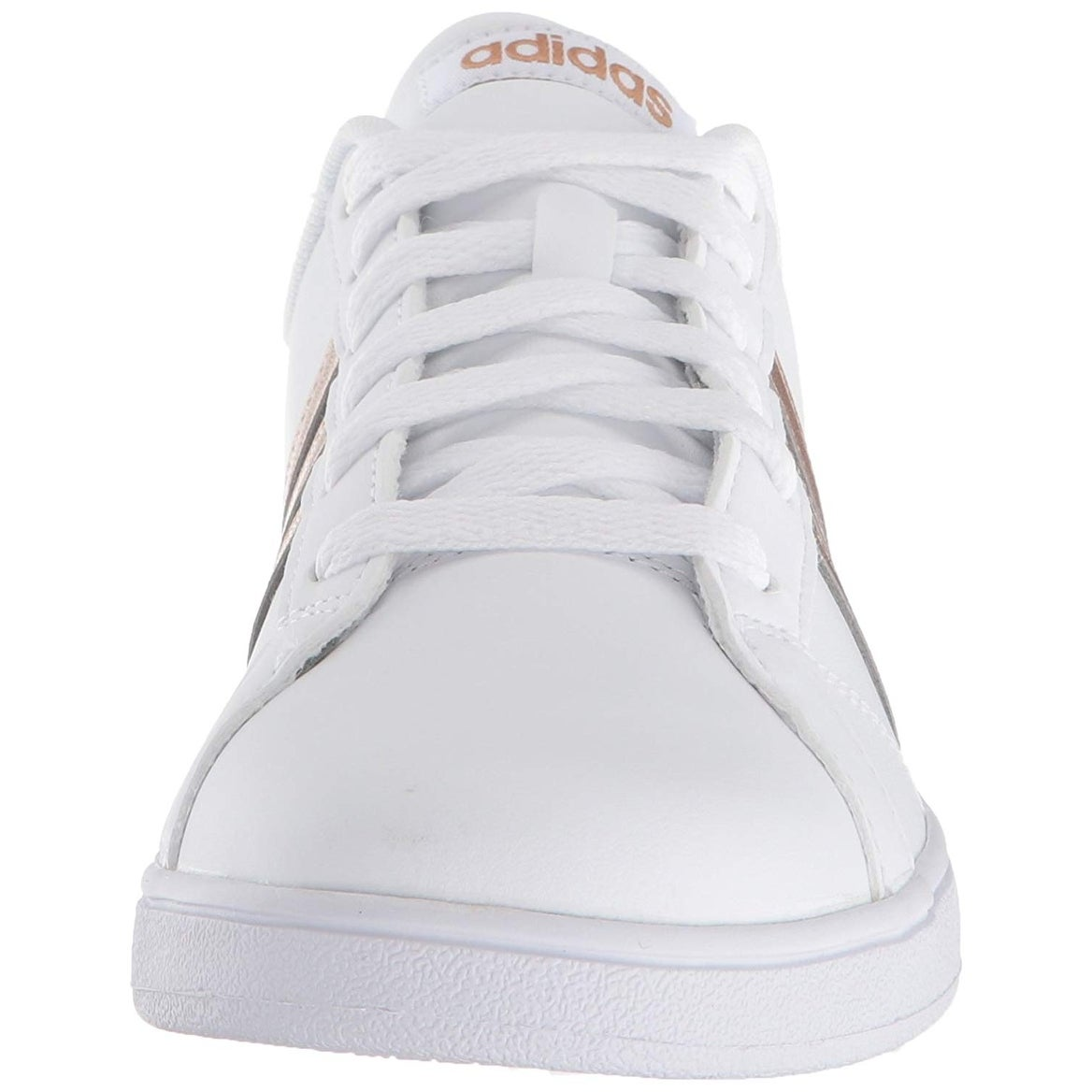 the best attitude 64b12 307e1 Shop Adidas Originals Unisex-Kids Baseline Sneaker, WhiteCopper MetallicBlack,  4.5 M Us Big Kid - Free Shipping Today - Overstock - 25592087