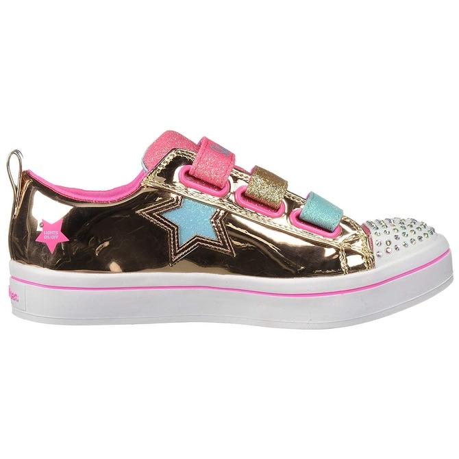 411acebdddf Shop Skechers Kids  TWI-Lites-Twinkle Starz Sneaker - Free Shipping On  Orders Over  45 - Overstock - 25559928
