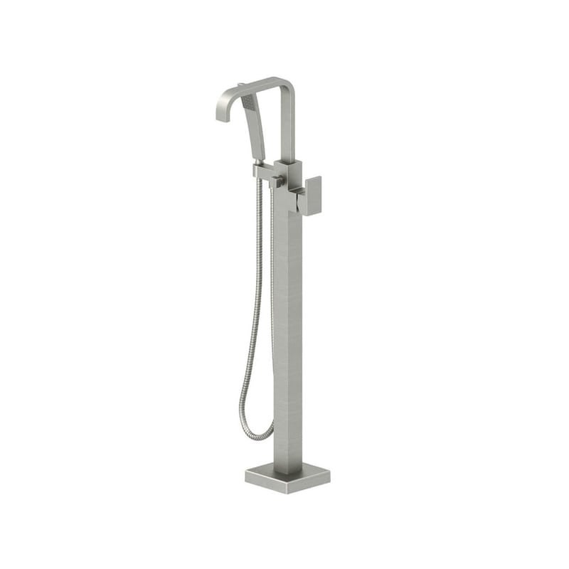 Shop Jacuzzi NW5582 Freestanding Tub Filler with Metal Lever Handle ...