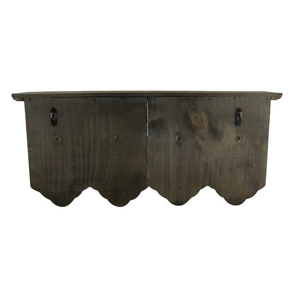 4 Antique Style Doors With Key Hooks On Distressed Wood Wall Shelf Free Shipping Orders Over 45 16940628