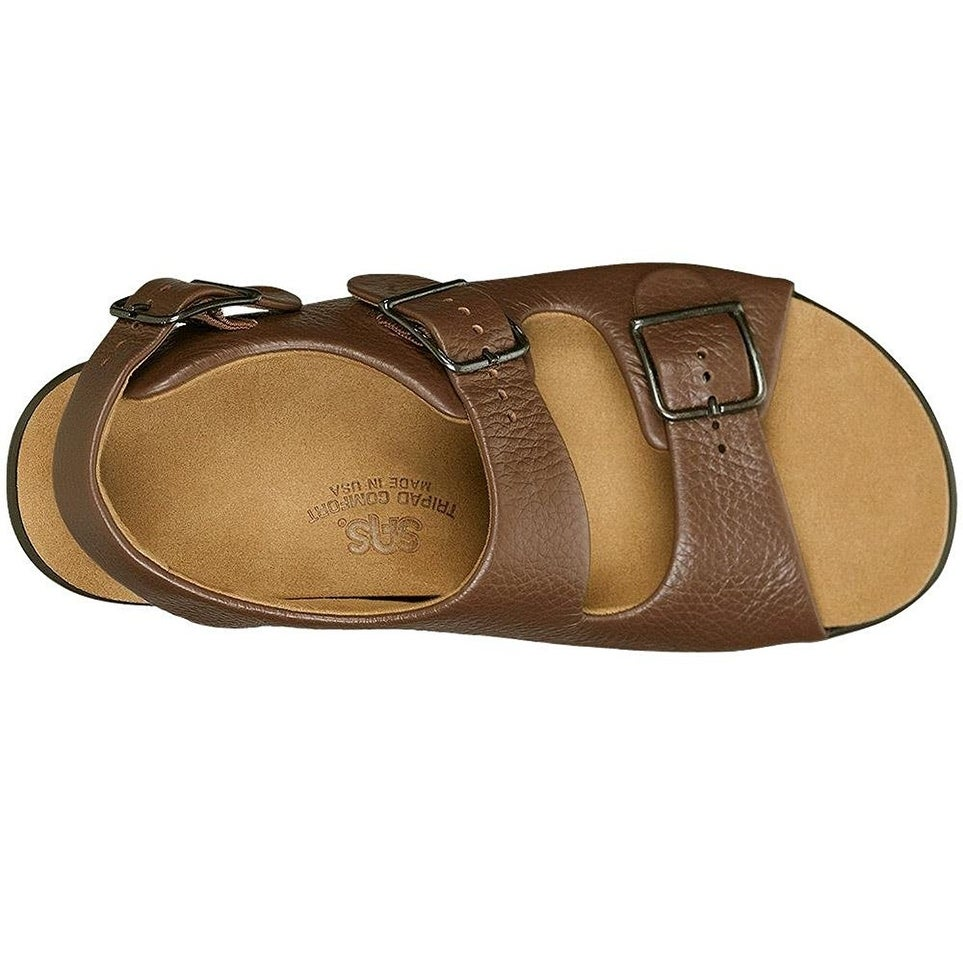 a8f2677e218 Shop San Antonio shoe Womens Relaxed Leather Open Toe Casual Slingback  Sandals - Free Shipping Today - Overstock - 20504520