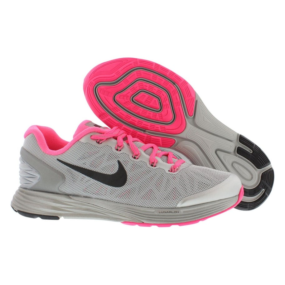 newest df990 e48c9 Shop Nike Lunarglide 6 Flash (Gs) Running Gradeschool Girl s Shoes - 6 Big  Kid M - Free Shipping Today - Overstock - 22163498