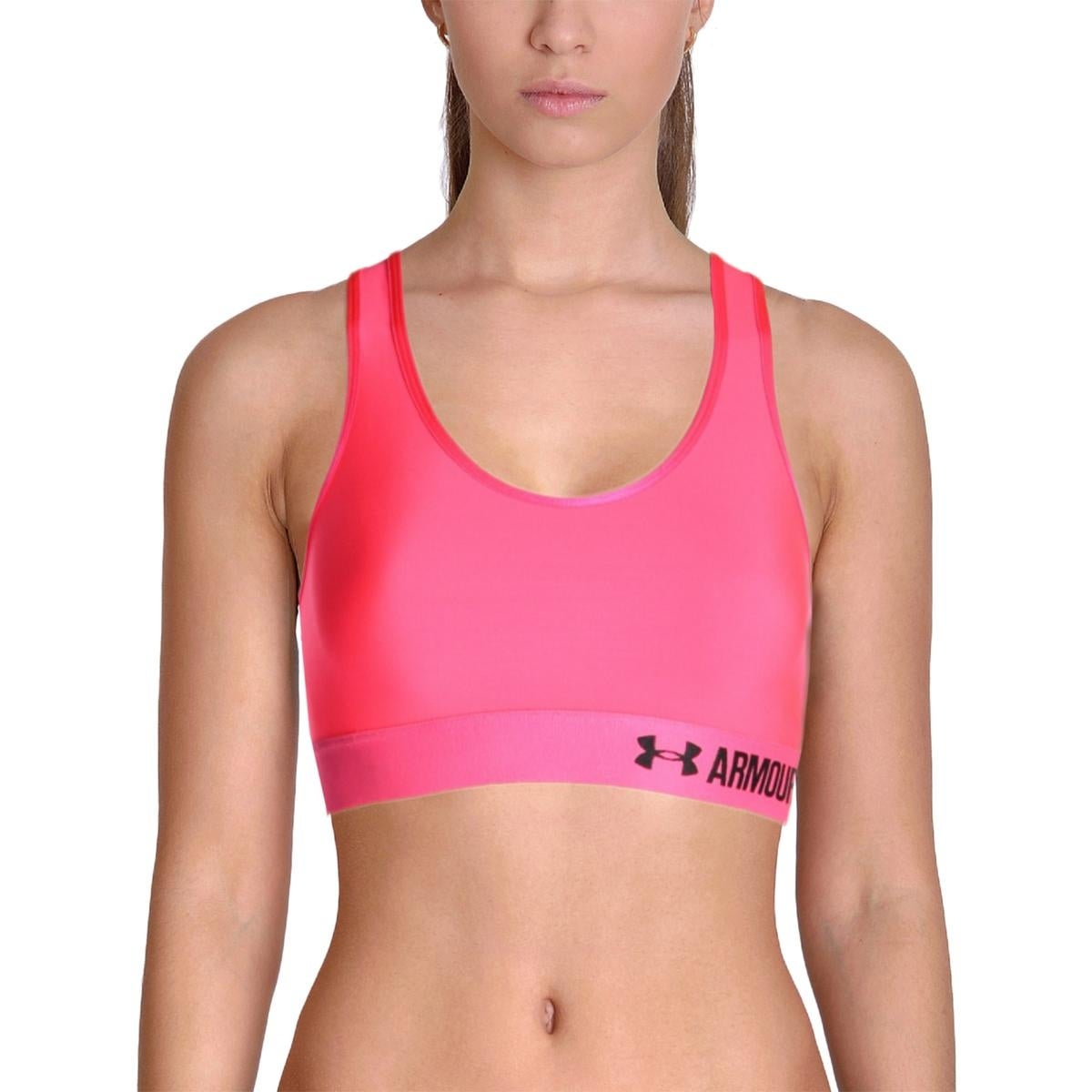 829c05fbb Shop Under Armour Womens Sports Bra Racerback Fitness - Free Shipping On Orders  Over  45 - Overstock.com - 14282848