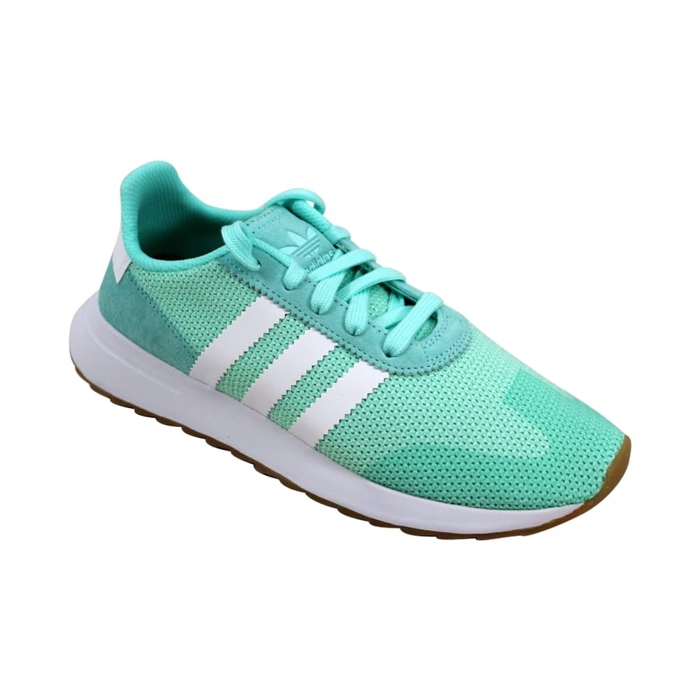 f4099b89fde2 Shop Adidas FLB Runner W Energy Aqua White-Gum DB2122 Women s - Free  Shipping On Orders Over  45 - Overstock - 27339616