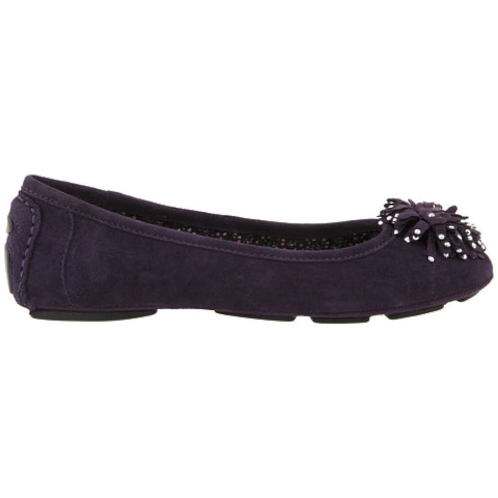 a01d230c0b3 Shop Anne Klein Womens Bambam Leather Round Toe Ballet Flats - 9 - Free  Shipping Today - Overstock - 26421106