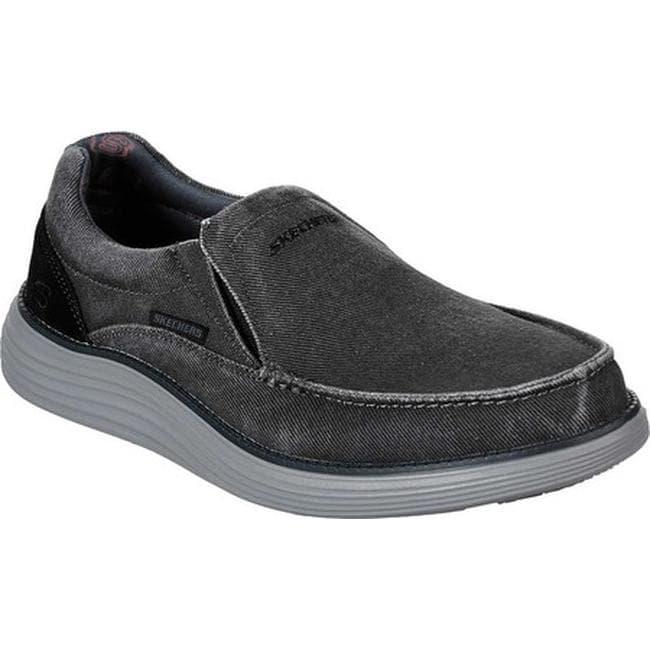 d80df39abed0 Shop Skechers Men s Status 2.0 Mosent Loafer Black - On Sale - Free ...
