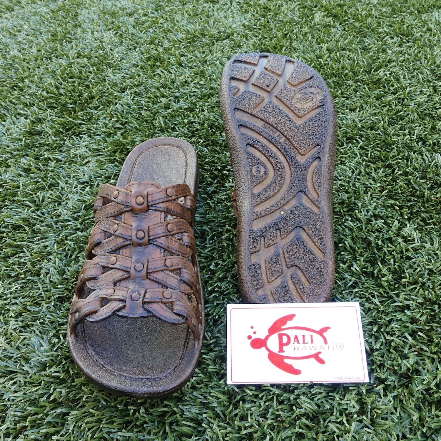 40dbfb43aff9 Shop pali hawaii tia brown sandals with certificate of authenticity free  shipping on orders over overstock