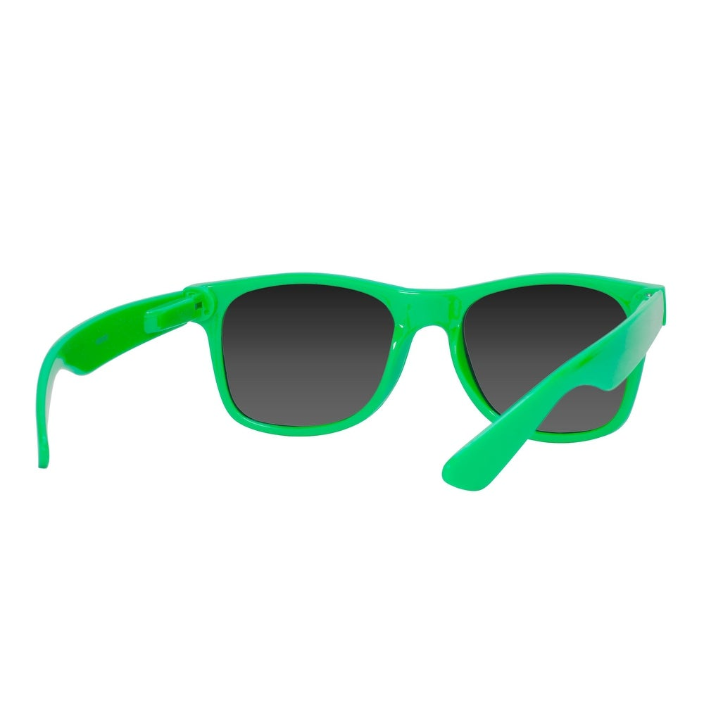 4210234c1ae Shop Gravity Shades Horn-Rimmed Mirror Sunglasses - One Size - Free  Shipping On Orders Over  45 - Overstock.com - 16948569