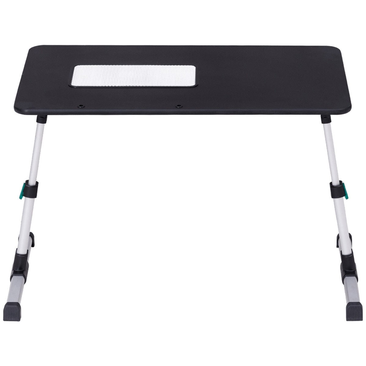 Shop Costway Portable Height Adjustable Laptop Bed Tray Table Standing Desk  W Cooling Fan   Free Shipping On Orders Over $45   Overstock.com   20503538